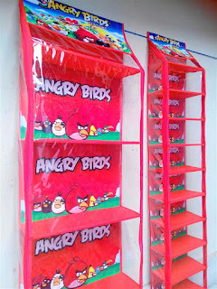 Rak Tas Rak Sepatu Angry Bird