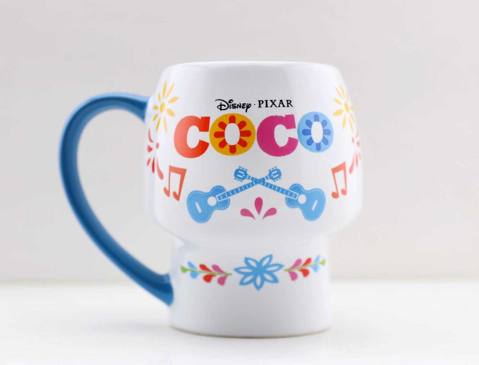 disney pixar coco skull mug