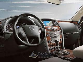 Salah satu interior mobil SUV