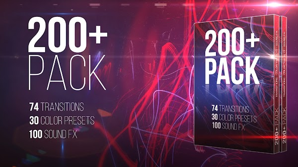 200+ Pack: Transitions; Color Presets; Sound FXs - Premiere Pro Presets | Motionarray 90884 - Free download