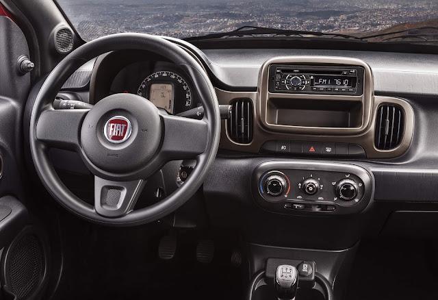 Fiat Mobi 2019 - interior