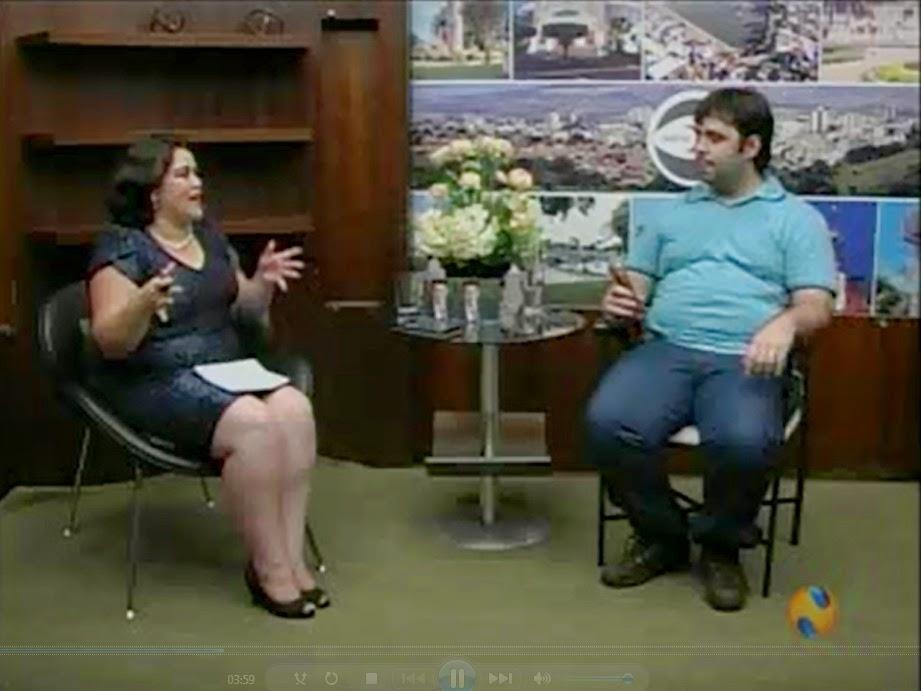 Entrevista - Esequias Caetano fala sobre Resoluções de ano novo para a NTV 1