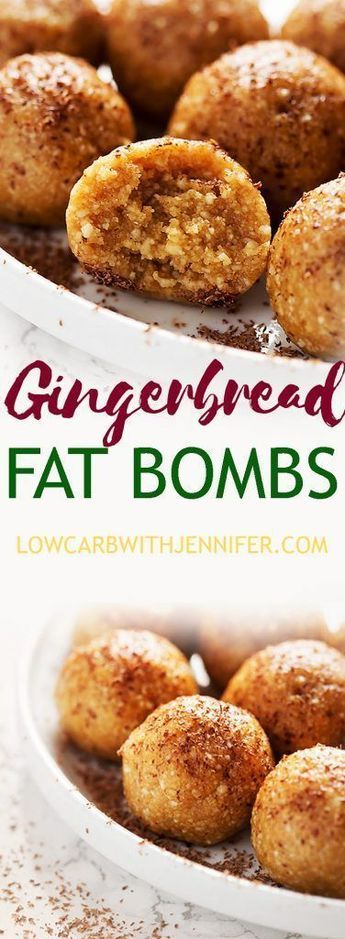 Gingerbread Fat Bombs Recipe