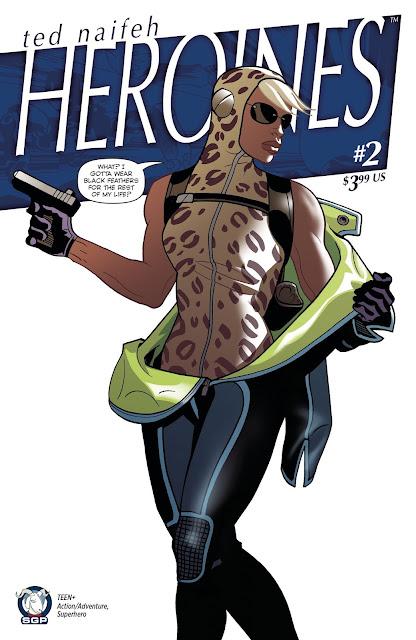 Ted Naifeh's Heroines