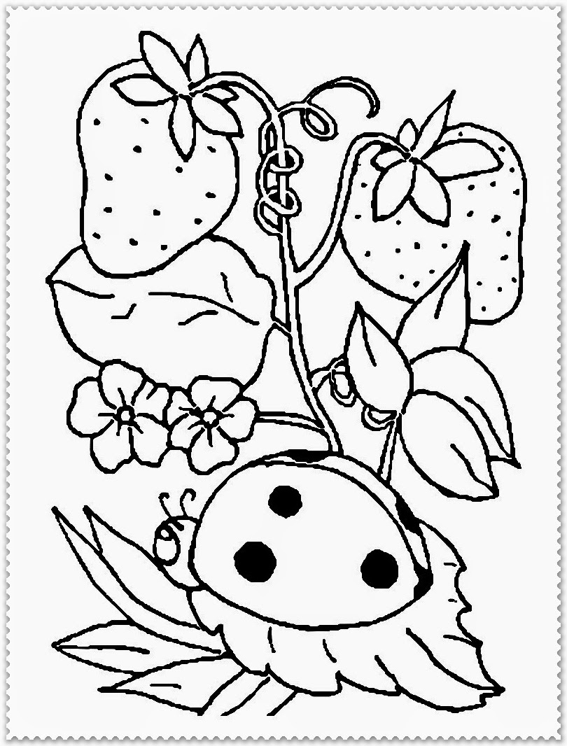 spring animals coloring sheet