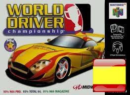 Roms de Nintendo 64 World Driver Championship Europe (Español) ESPAÑOL descarga directa