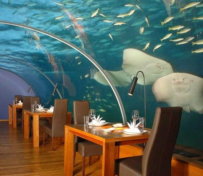 Ithaa Maldives undersea restaurant