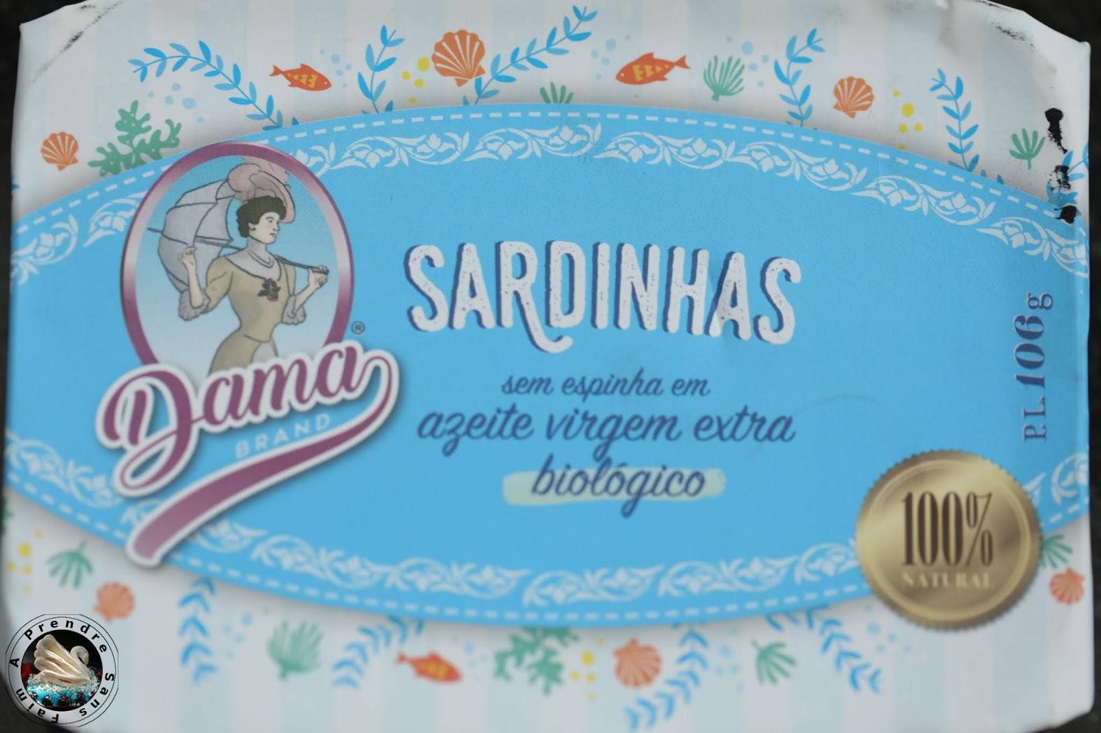 Omelette roulée aux sardines