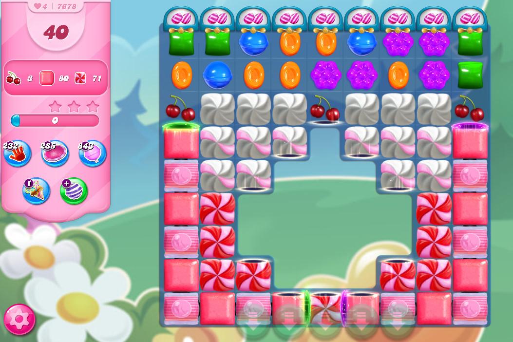 Candy Crush Saga level 7678
