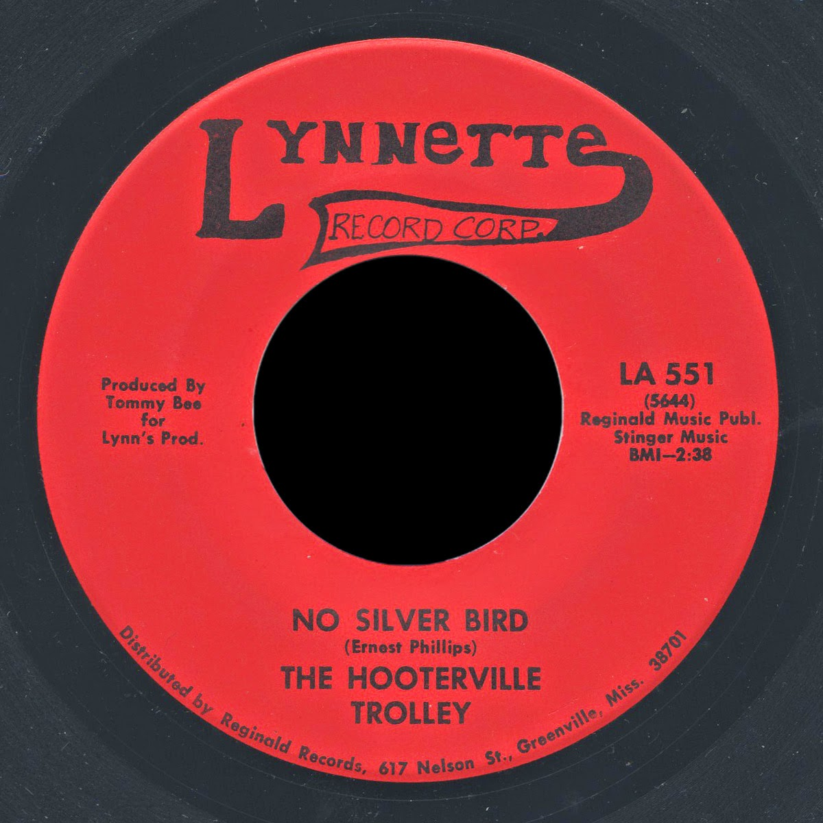 "The Hooterville Trolley - ""No Silver Bird"" single"