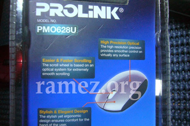 PROLINK PMO628U Optical Wired Mouse Ulasan Lengkap
