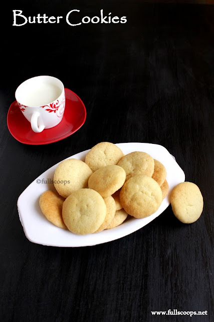 Eggless Butter Biscuits