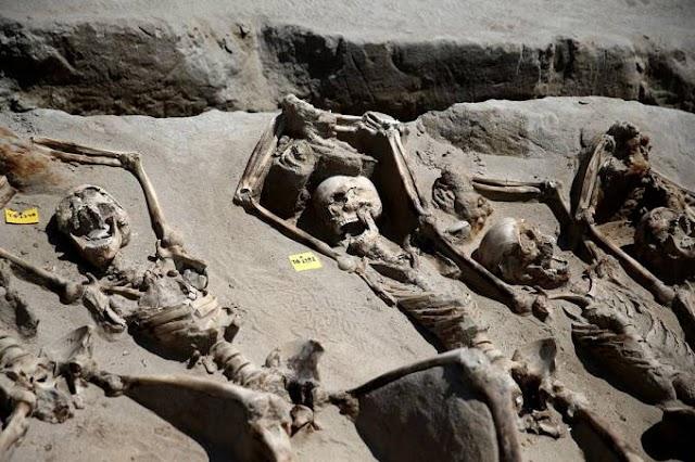 Cientistas descobrem violento massacre da Grécia Antiga