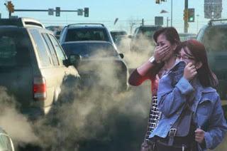 Foto Gambar pencemaran udara