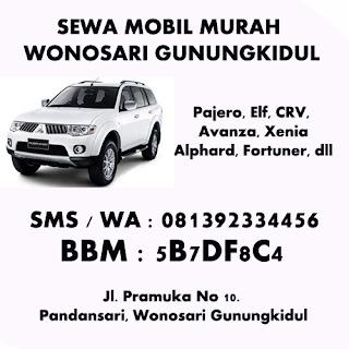 Sewa mobil murah gunung kidul