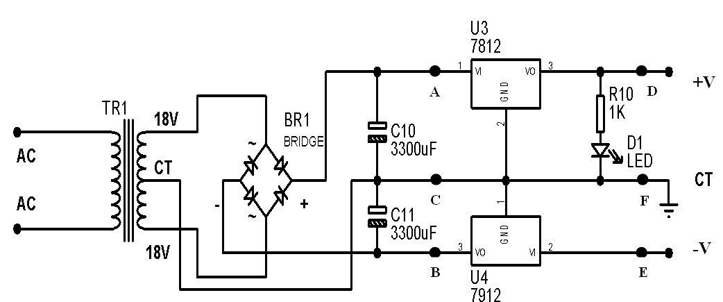 rangkaian audio amplifier btl menggunakan ic tda2050 syarif projects rh syarif projects blogspot com