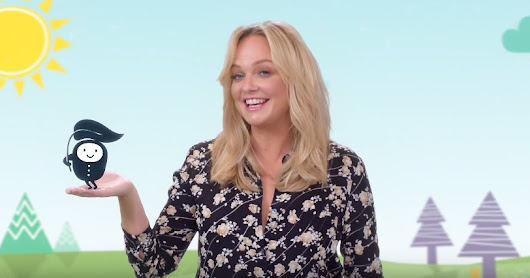 Fall Off The Wall creates animation to launch Emma Bunton's new brand Kit & Kin