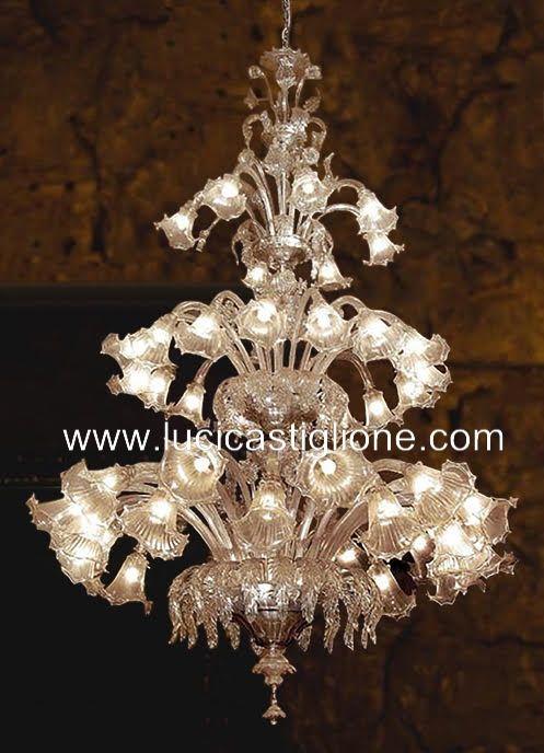 Ricambi per lampadari in vetro di Murano e Specchi