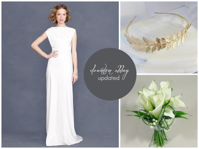 Lady Marys Bridal Style From Downton Abbey