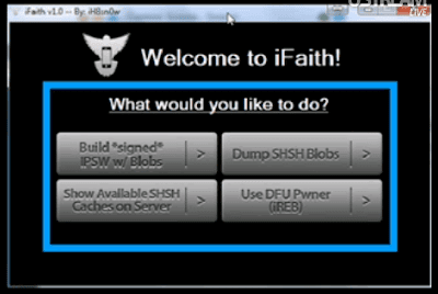 Download iFaith 1.2.1 To Save iOS 4.3.5 & iOS 4.3.4 SHSH Blobs