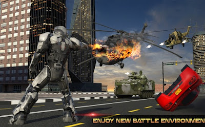 Futuristic Robot Battle