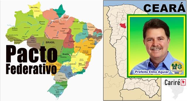 Elmo Aguiar de Cariré e demais prefeitos cearenses clamam pela revisão do Pacto Federativo em Brasília com urgência!