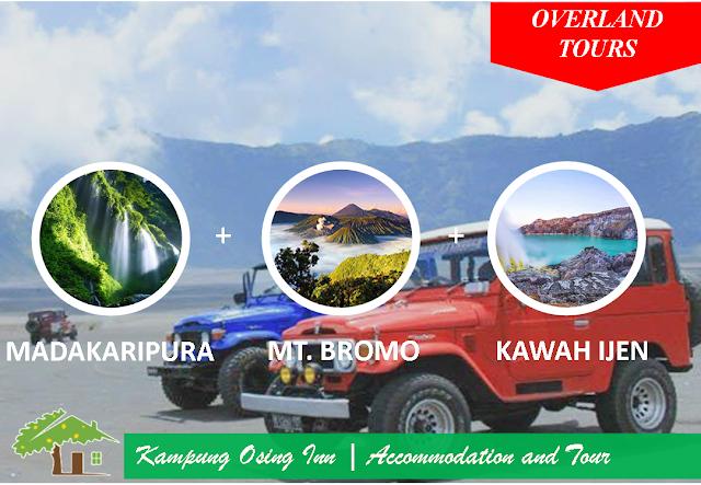 Madakaripura - Mount Bromo - Kawah Ijen