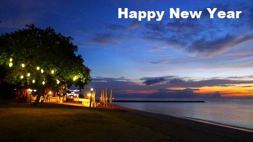 Happy New Year Celebrations ImagesBeach
