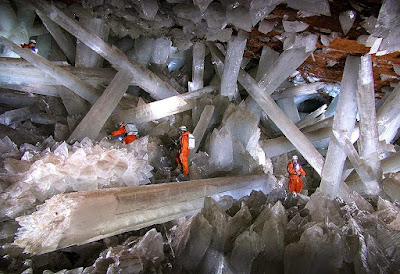 "Cave of Crystals ""Giant Crystal Cave"""