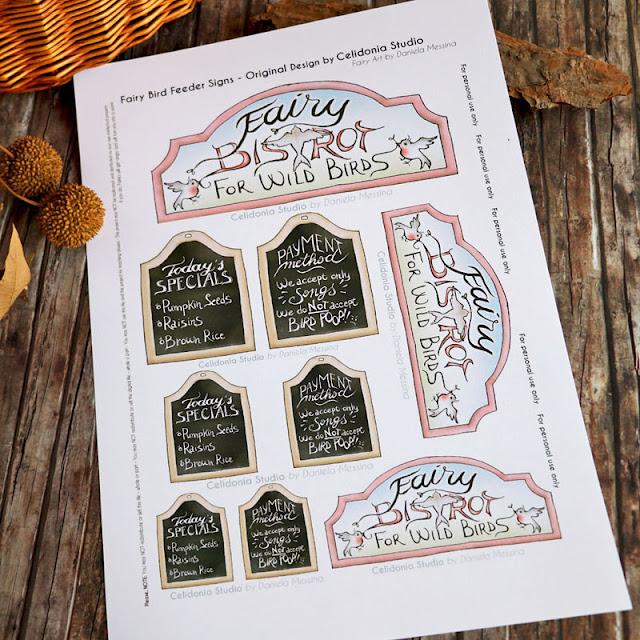 Fairy Bistrot Printable