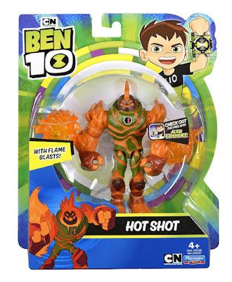 Hot Shot : Figura de acción - Muñeco Producto Oficial Serie Boing 2018-2019 | Playmates Toys 76137 | A partir de 4 años COMPRAR ESTE JUGUETE