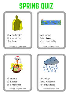 wiosenny quiz angielski