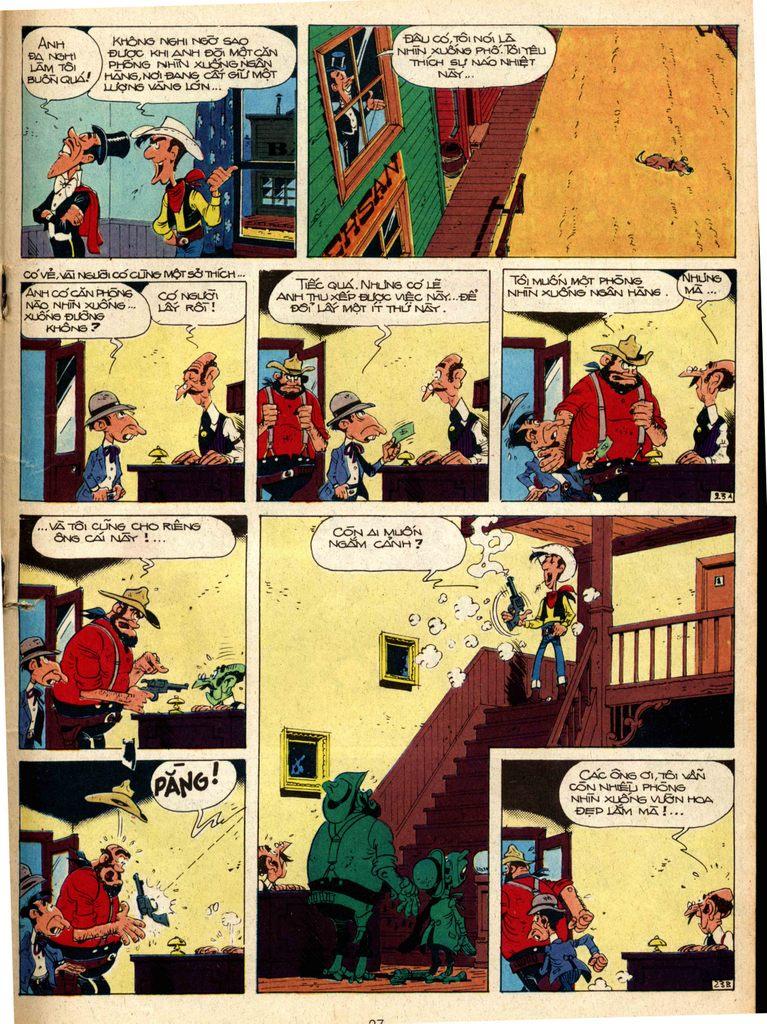 Lucky Luke tap 1 - ban tay nham trang 22