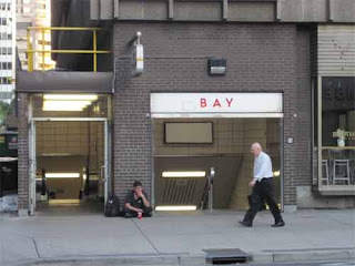 Bay Station Entrance.