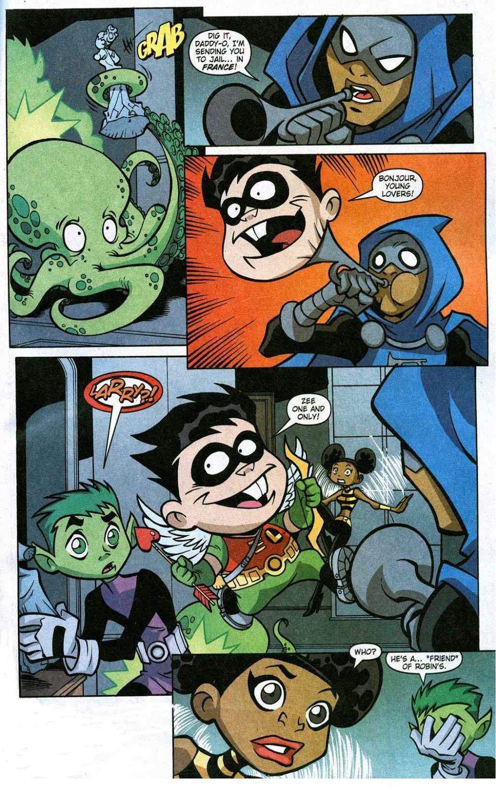 Teen Titans Go Comic Book Series May 2014-9952