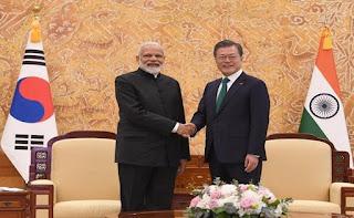 India, South Korea express commitmen