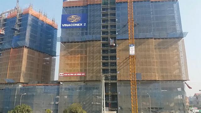 Tiến độ xây dựng Intracom Riverside nhật tân Vĩnh Ngọc Đông Anh