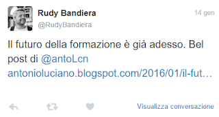 rudy bandiera feedback post blog