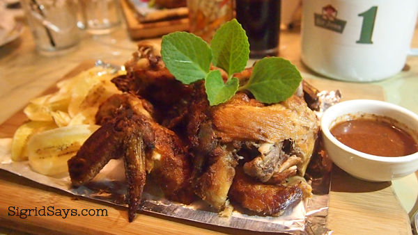 fried native chicken, healthy food options Bacolod