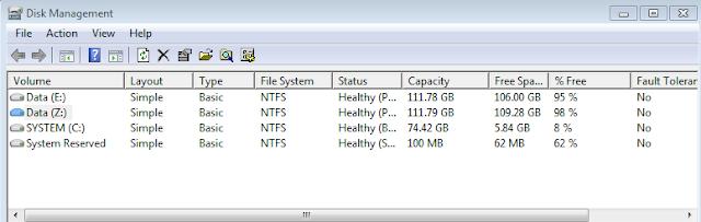 Cara Mengganti Label Huruf pada Hard Disk Drive (HDD)