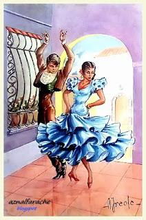 Trajes y bailes típicos de Andalucía - Alberto Iraola - 04