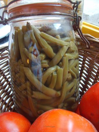Haricots verts autocuiseur table de cuisine - Cuisiner haricots verts surgeles ...