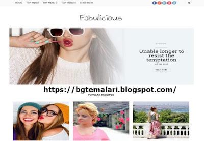 Fabulicious Blogger Teması