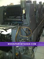 Mesin cetak 4 warna+Heidelberg GTOV 52