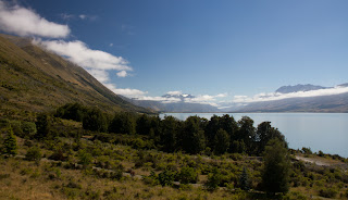 View from the second upstairs room - South Temple Wing - Lake Ohau Lodge