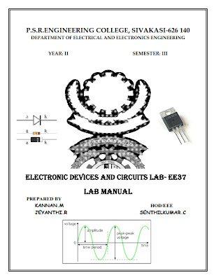 Electronic circuits Lab Manual Anna university