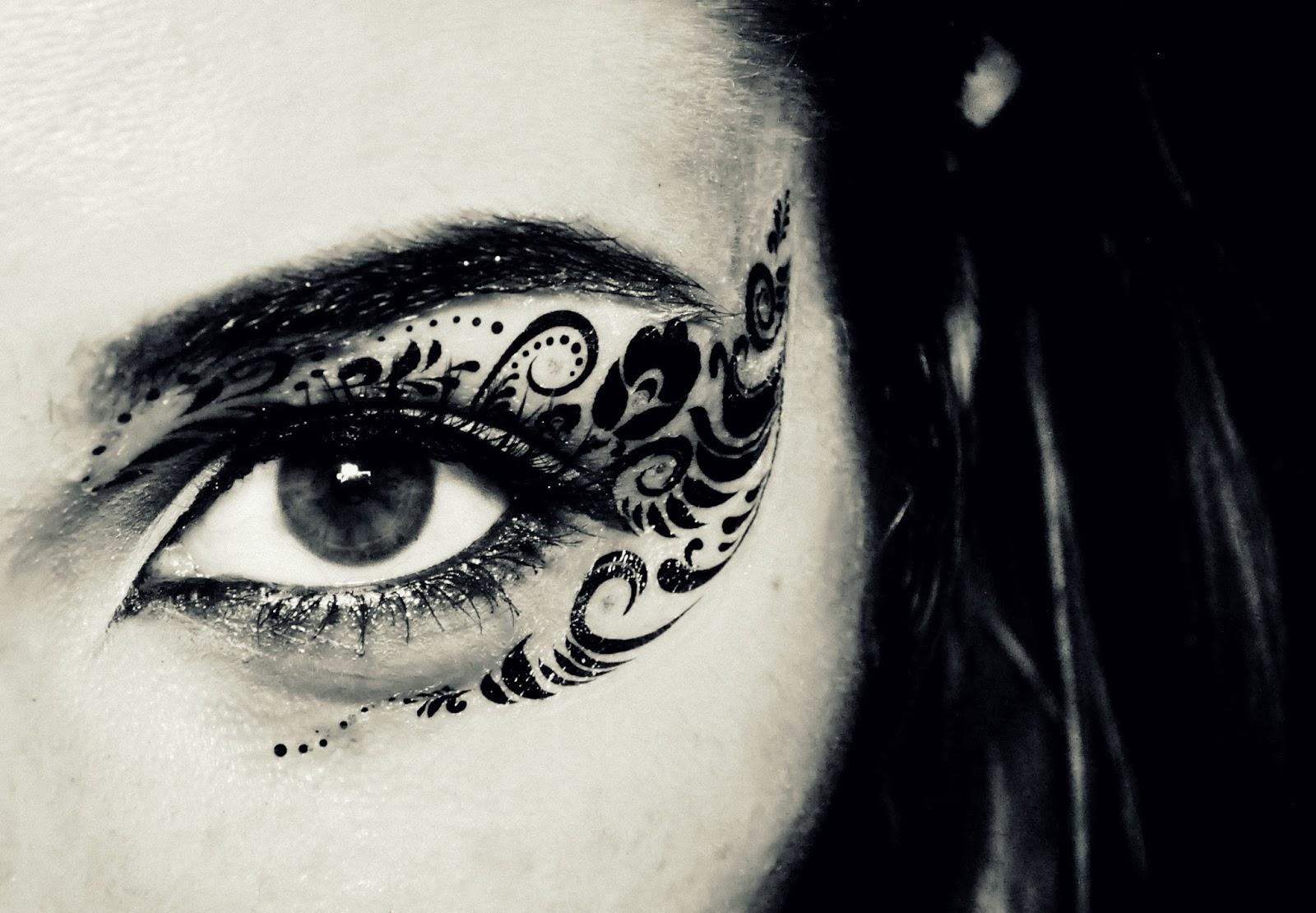 Make Up Charm Naklejki Tatuaże I Elementy Biżuteryjne W