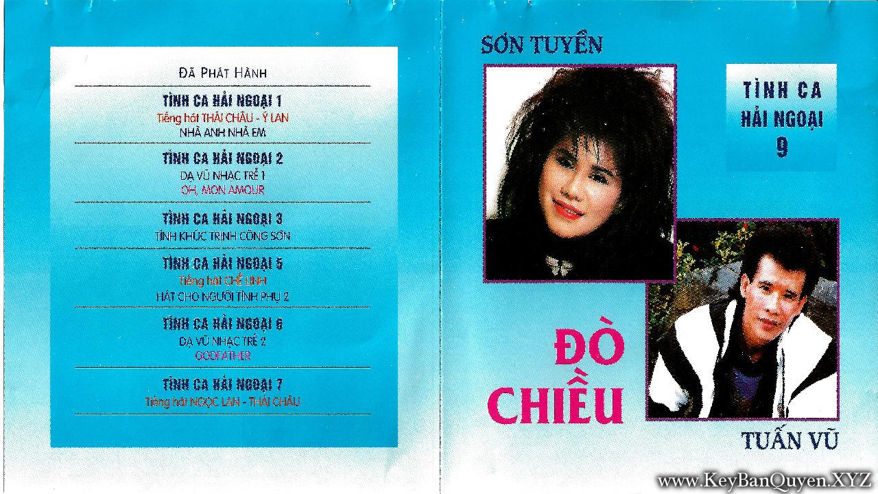 CD nhạc Tuấn Vũ - Sơn Tuyền - Album Đò Chiều (1993)[FLAC]