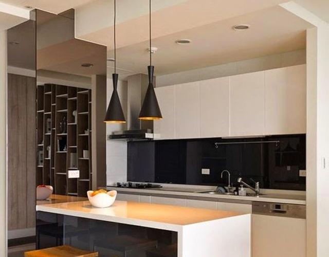 L mparas colgantes para la cocina a gusto de todos cocinas con estilo - Lamparas colgantes minimalistas ...