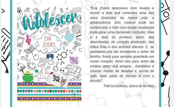 Adolescer, Eva Zooks, Ler Editorial, livro, capa, sinopse